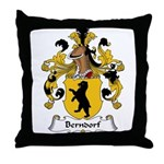 Berndorf Family Crest Throw Pillow