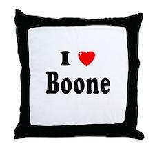 BOONE Throw Pillow