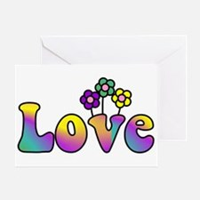 With Love, All Things Grow Greeting Card