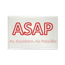 As Southern As Possible Rectangle Magnet (10 pack)