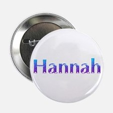 "Glitter Name Hannah 2.25"" Button"