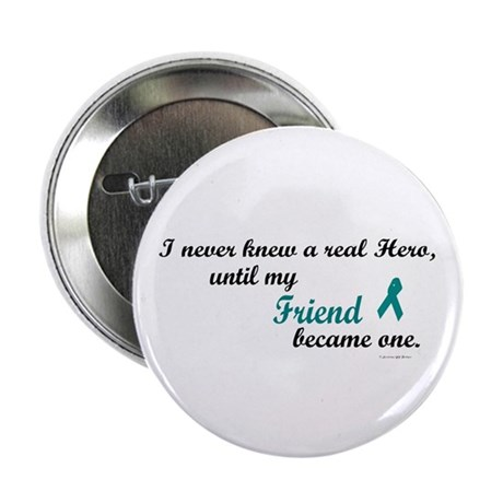 "Never Knew A Hero OC (Friend) 2.25"" Button"