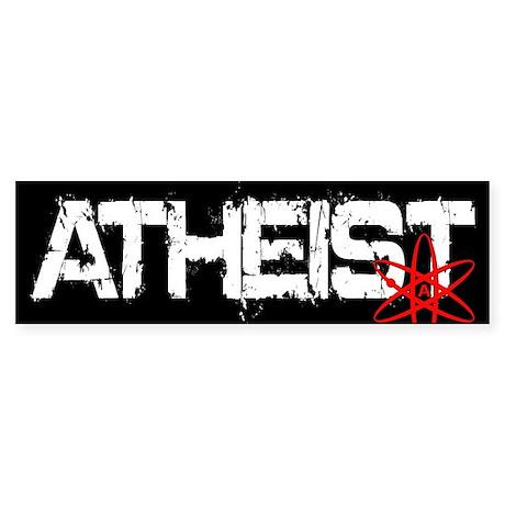 Atheist (bumper) Bumper Sticker