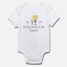 Coolest Big Sister (bl) Infant Bodysuit