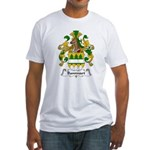 Bannwart Family Crest Fitted T-Shirt