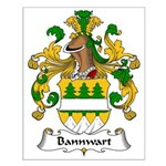 Bannwart Family Crest Small Poster