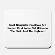 Loose Nut At Keyboard Mousepad