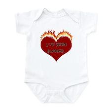 Heart's Been Burned Infant Bodysuit