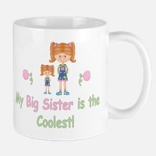 Coolest Big Sister (rh) Mug