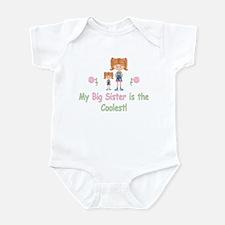 Coolest Big Sister (rh) Infant Bodysuit