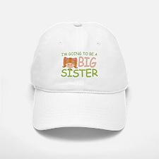 Going To Be Big Sister (rh) Baseball Baseball Cap