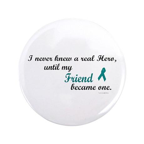 "Never Knew A Hero OC (Friend) 3.5"" Button (100 pac"