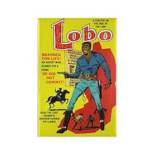 $4.99 Lobo #1 Rectangle Magnet
