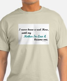 Never Knew A Hero OC (Mother-In-Law) T-Shirt