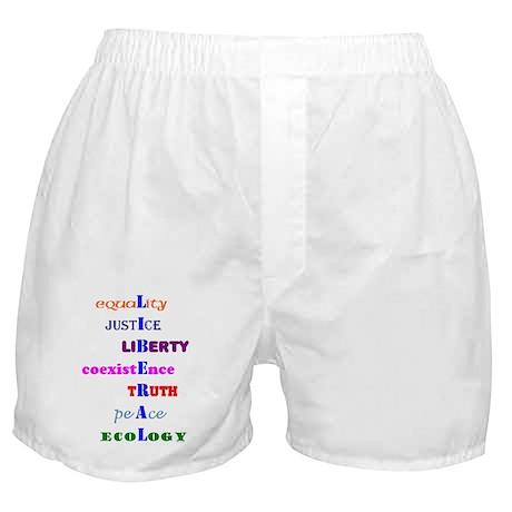 Liberal Values Boxer Shorts