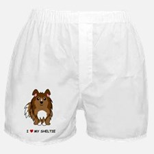 Sable Sheltie Boxer Shorts