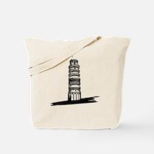 """""""The Tilting Earth of Pisa"""" Tote Bag"""
