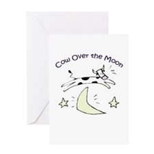 CoW OvEr ThE MoOn Collection Greeting Card