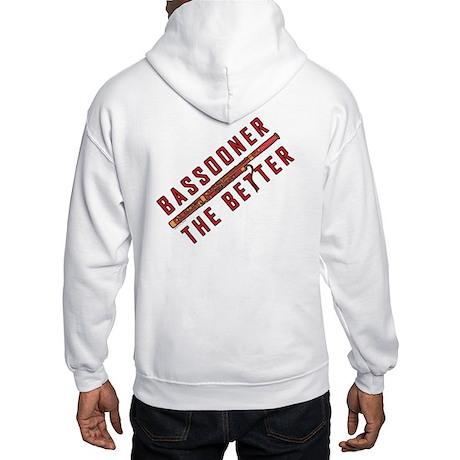 Bassooner (diagonal) Hooded Sweatshirt