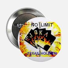 """Cute Texas hold em 2.25"""" Button"""