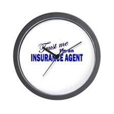 Trust Me I'm An Insurance Age Wall Clock