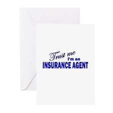 Trust Me I'm An Insurance Age Greeting Cards (Pk o