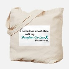 Never Knew A Hero OC (Daughter-In-Law) Tote Bag