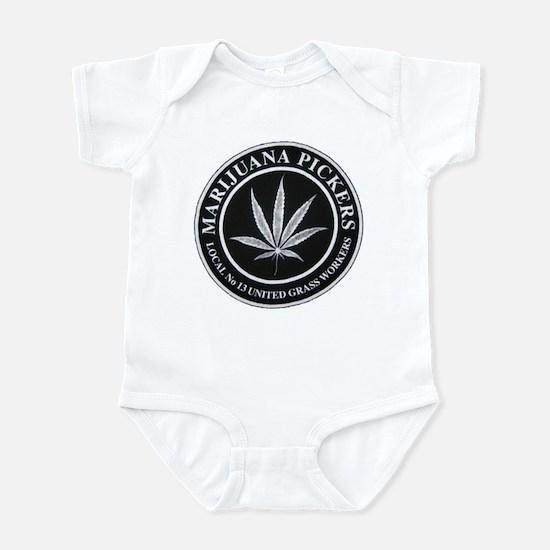 Pot Workers Union  Infant Bodysuit