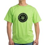 Pot Workers Union  Green T-Shirt