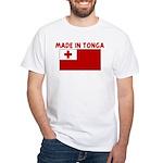 MADE IN TONGA White T-Shirt