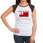 MADE IN TONGA Women's Cap Sleeve T-Shirt
