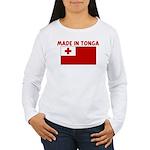 MADE IN TONGA Women's Long Sleeve T-Shirt