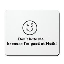 Good At Math Mousepad