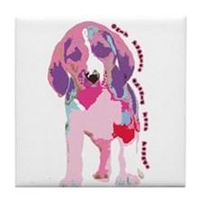 Only Puppies Should Fear Poun Tile Coaster