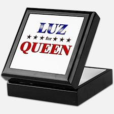 LUZ for queen Keepsake Box