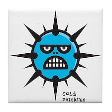 Cold Pricklies Tile Coaster