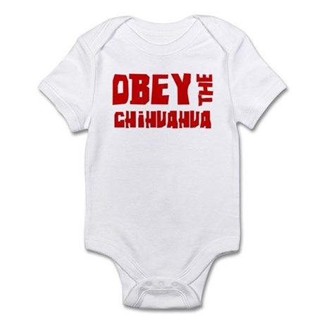 Obey the Chihuahua Infant Bodysuit