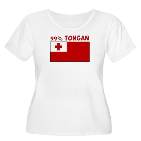 99 PERCENT TONGAN Women's Plus Size Scoop Neck T-S