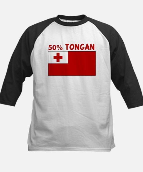 50 PERCENT TONGAN Kids Baseball Jersey