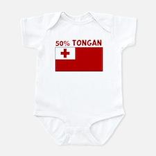 50 PERCENT TONGAN Onesie