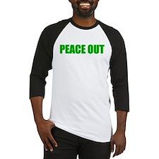 PEACE OUT Baseball Jersey
