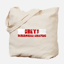 Obey the Bergamasco Sheepdog Tote Bag