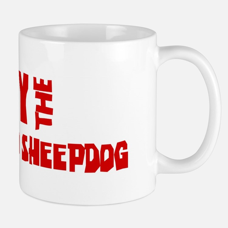 Obey the Bergamasco Sheepdog Small Small Mug