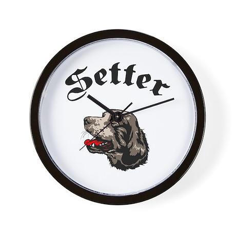 Setter Wall Clock
