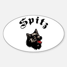 Spitz Oval Decal