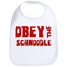 Obey the Schnoodle Bib