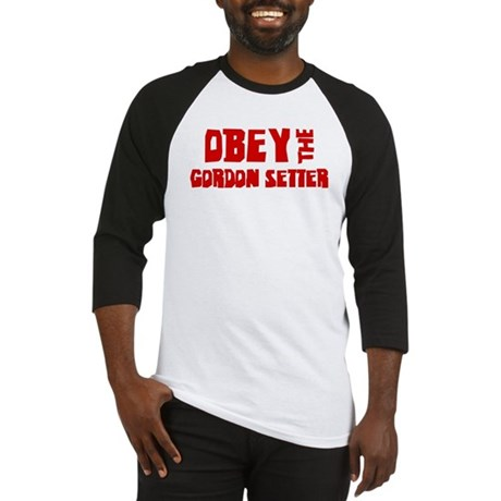 Obey the Gordon Setter Baseball Jersey