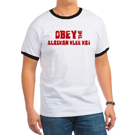 Obey the Alaskan Klee Kai Ringer T