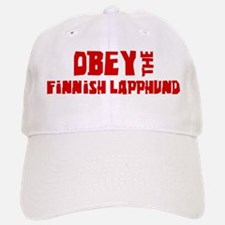 Obey the Finnish Lapphund Baseball Baseball Cap