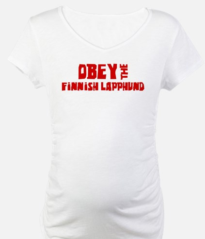 Obey the Finnish Lapphund Shirt